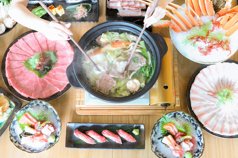 EN Sakaba – All-You-Can-Eat Miyazaki Wagyu & Premium Queen Crab Japanese Hotpot Buffet, At Capital Tower & JEM