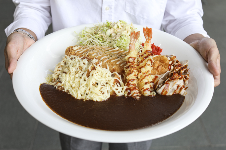 Monster Curry – Premium Roast Beef Japanese Curry Rice At