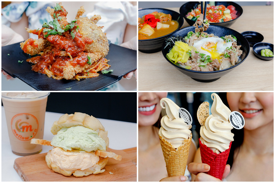 Our Tampines Hub - 9 NEW Food Places In The East, Serving Cheesesteaks, Melonpan With Ice Cream, Cold Brew Softserve