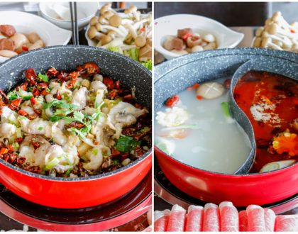 Qi Lai Feng – Hidden Gem In Yishun Serving Both Dry Fish Pot And Hot Pot