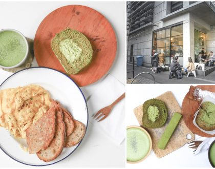 Cre Asion - So Much Matcha Love In This Green Tea Café At Sydney. Scrambled Eggs To Live For