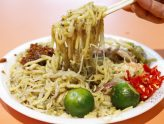 Tiong Bahru Yi Sheng Fried Hokkien Mee - Prawn Noodles With Michelin Bib Gourmand & Long Queue, At ABC Food Centre