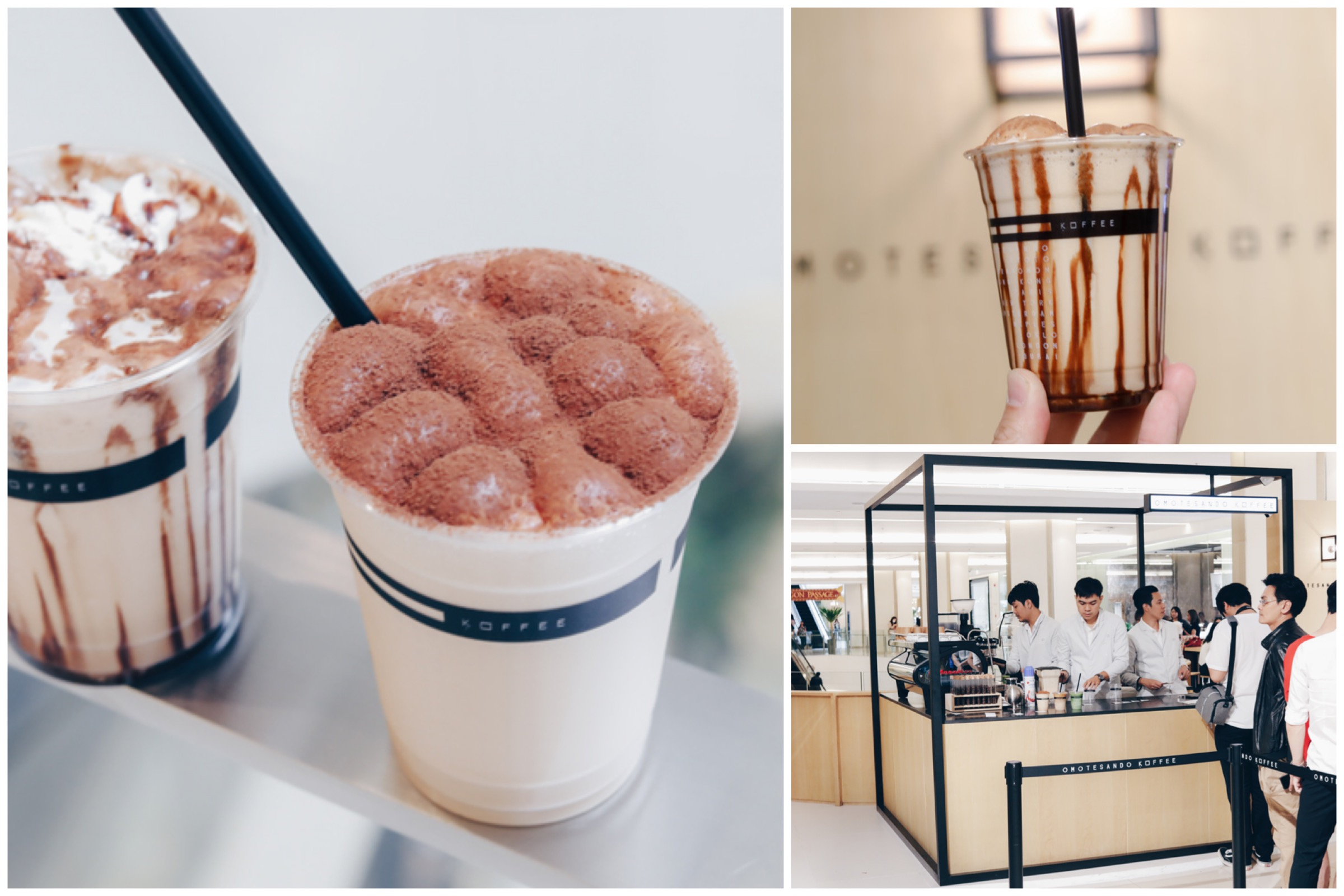 Omotesando Koffee Thailand - Famous Coffee Place Opens In Bangkok At Siam Paragon, Known For Its Iced Cappuccino