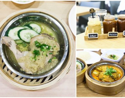 13 Stages - Steamed Chicken Leg Rice With 7 Differents Flavours, At Tanjong Pagar Centre