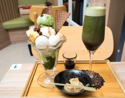 Kagurazaka Saryo 神楽坂茶寮 - Japanese Matcha Teahouse With Matcha Nitro Drinks And Matcha Fondue, At VivoCity