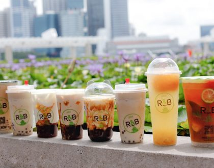 R&B 巡茶 - 1st Brown Sugar Boba Milk with Cheese Brûlée In Singapore. At MBS, Marina Square, Toa Payoh, Punggol, SP