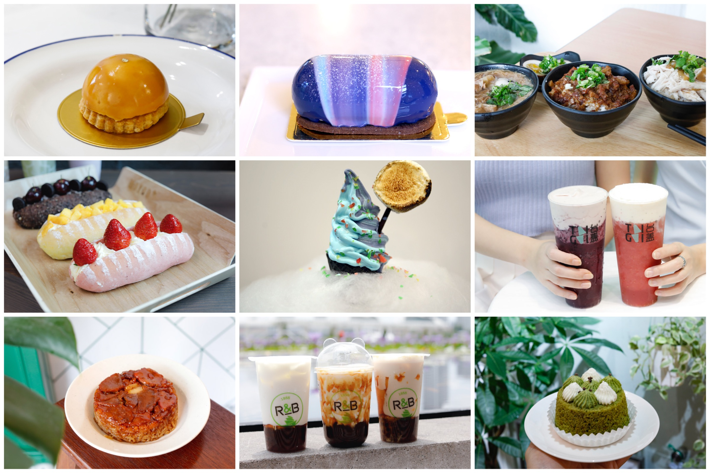 10 New Cafes In September - Blue Aqua S Soft Serve And More Bubble Tea Shops From TaiGai, MuYoo+ To R&B 巡茶