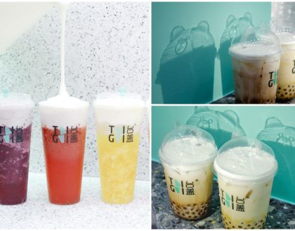 "TaiGai 台盖 – Popular Tea Brand With Fruit-Blended Milk Cheese Crowns And ""Dancing Bear"" Cups Opens At NEX"