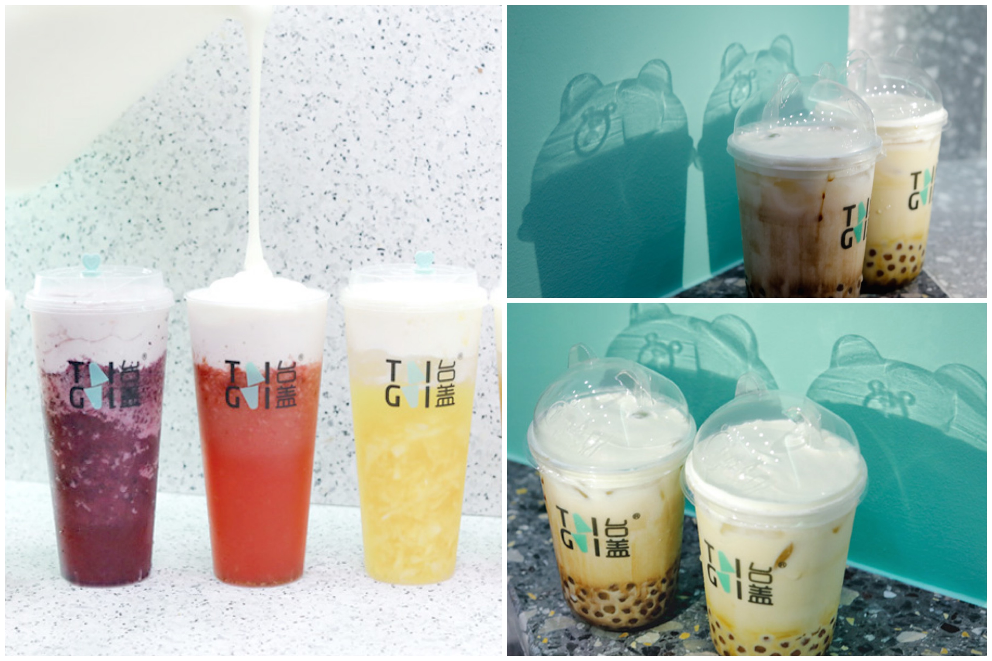 """TaiGai 台盖 – Popular Tea Brand With Fruit-Blended Milk Cheese Crowns And """"Dancing Bear"""" Cups Opens At NEX"""