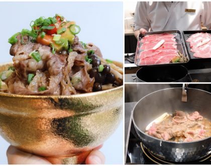 Beef Sukiyaki Don Keisuke - Value-For-Money Quality Beef Bowls, With Chefs Cooking Right In Front Of You
