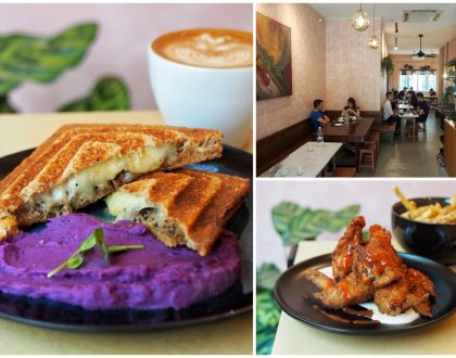 Amber Ember – Charming Chic Café With Dusty Pink Interiors At Serangoon. Serves Jaffles for Brunch
