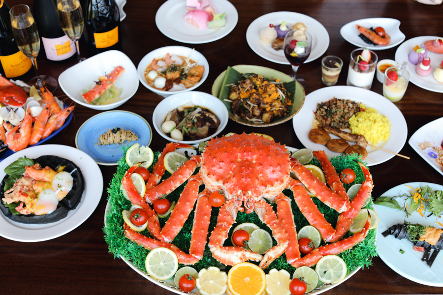 Edge – Brand NEW Sunday Champagne Brunch, With Indulgent Spread From Alaskan King Crab, Penang Signatures & Thai Delights