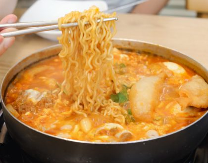 Mukshidonna Seoul 먹쉬돈나 – Popular Toppoki Restaurant Known For Its Budae (Army Stew) Base, At Samcheong-Dong