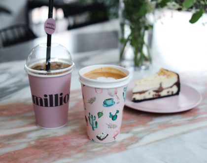 One In A Million Cafe 원인어밀리언 - Pretty In Pink Cafe Is A Hit Among Korean Youths, At Itaewon Seoul