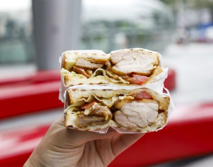 Sandwich Lab - Splash n Decker Sandwiches From NP And NYP Returns, At ION Orchard Basement