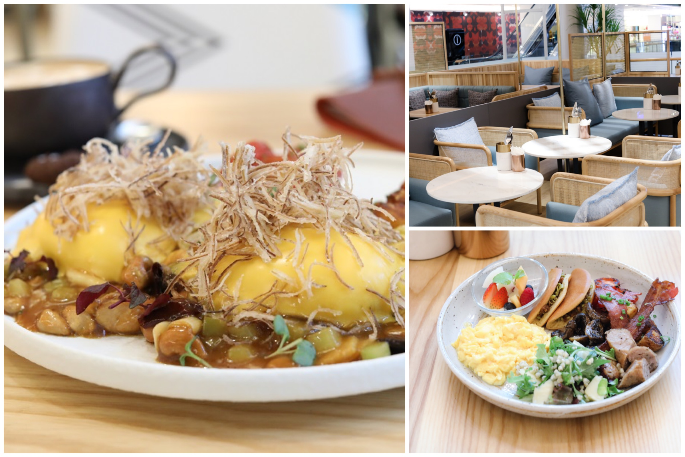 Halcyon & Crane – Brunch With Sichuan Influences At Orchard Paragon. Expect Gong Bao Eggs Ben And Spicy Beef Capellini
