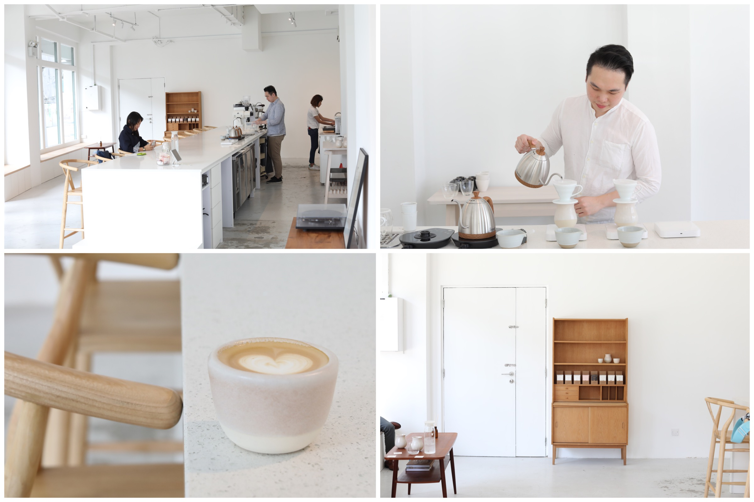 Apartment Coffee - Beautiful White Cafe That Makes You Feel Like Home, At Lavender Street