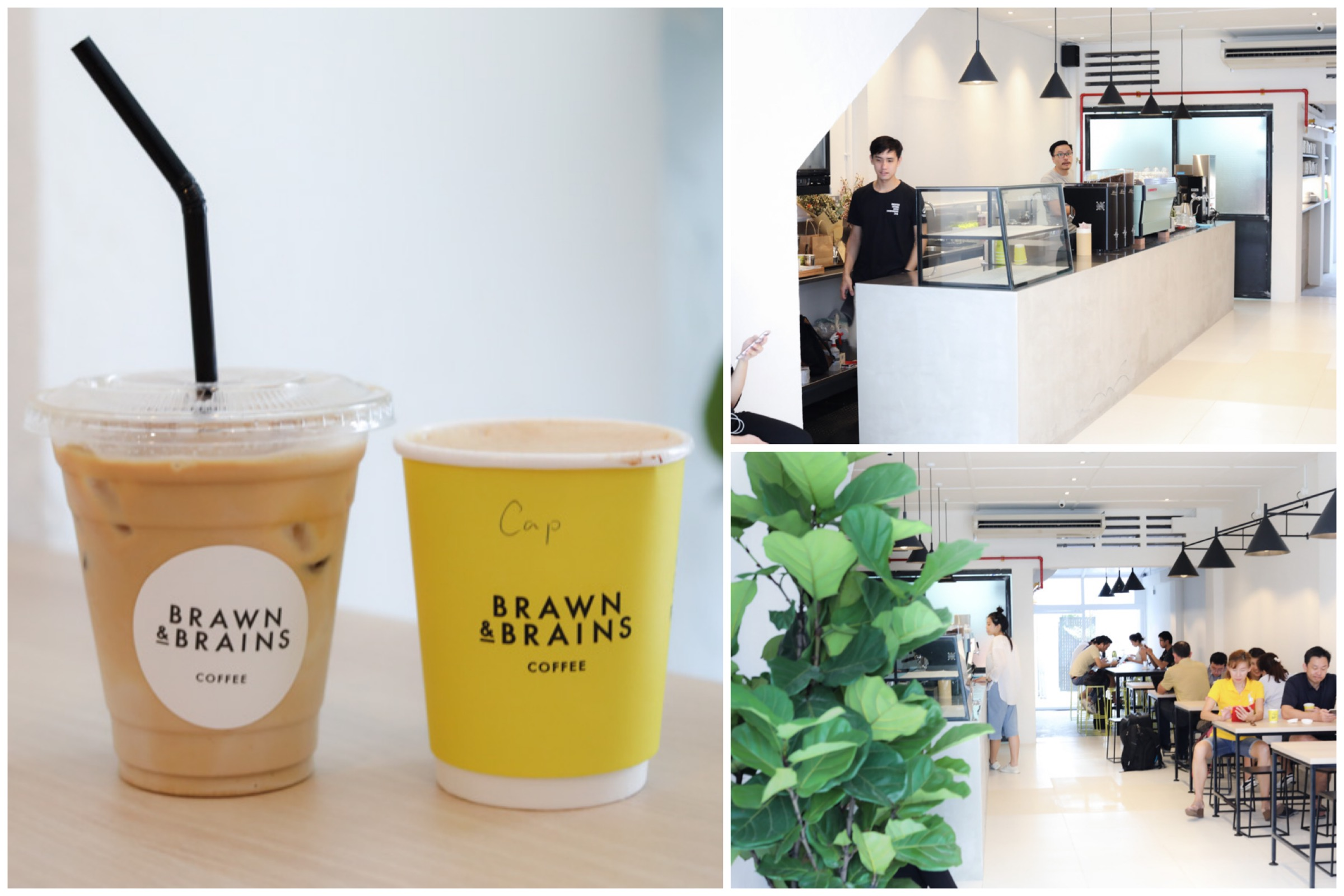 Brawn & Brains Coffee - Quality Coffee With Minimalist Vibes, New Outlet At East Coast Road