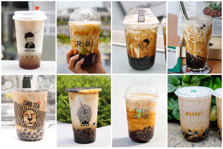 16 Brown Sugar Milk In Singapore - From Tiger Sugar, HeyTea, R&B Tea, KOI, LiHo To MuYoo