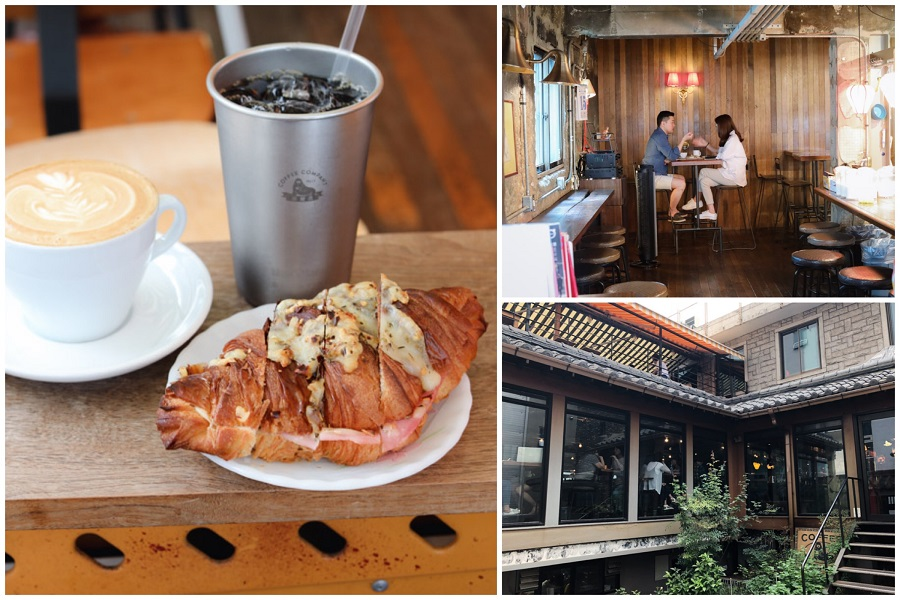 Fritz Coffee Company - Creative & Retro Looking Cafe Converted From A Mansion, At Mapo-Gu Seoul