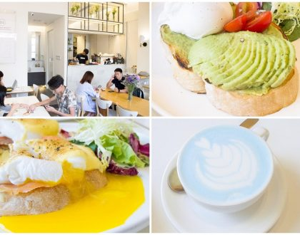 Pause It Café – Popular Brunch Cafe In Hong Kong. Known For Charcoal And Blue-Orange Lattes