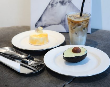 UNAS 우나스 - Gorgeous Cake Café Known For Avocado Cake That Looks Like An Avocado, At Gangnam Seoul