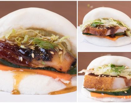 Kam's Roast - NEW Kam's Bao Buns, Filled With Roast Duck, Toro Char Siu, and Crispy Roast Pork
