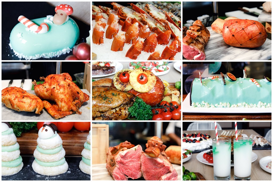 Lime – Most Indulgent Christmas Buffet, Just Check Out All The FOOD At PARKROYAL on Pickering