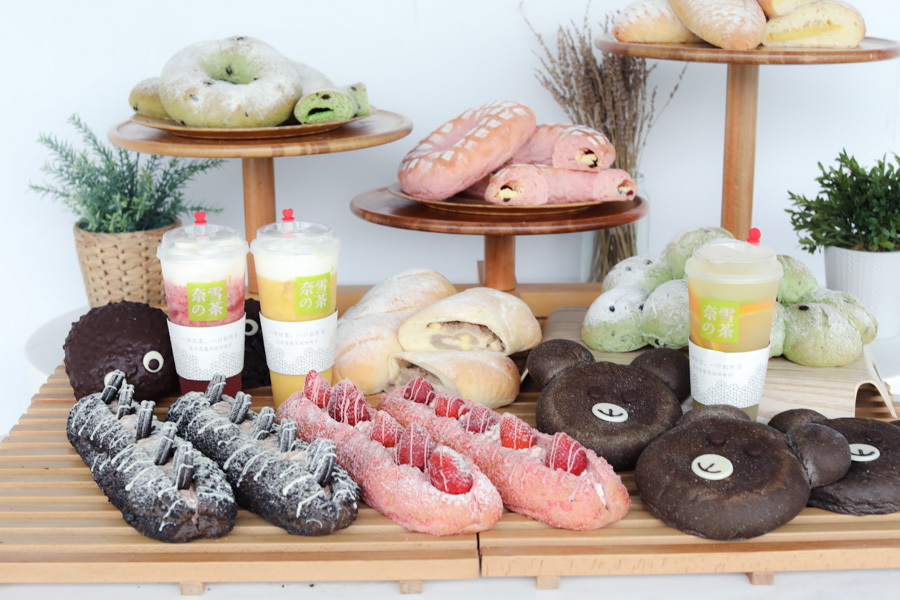 Nayuki 奈雪の茶 - Popular Cheese Tea Bakery Café Finally Opening At Vivocity. FREE Bread with Every Drink Purchase 8-10 Dec