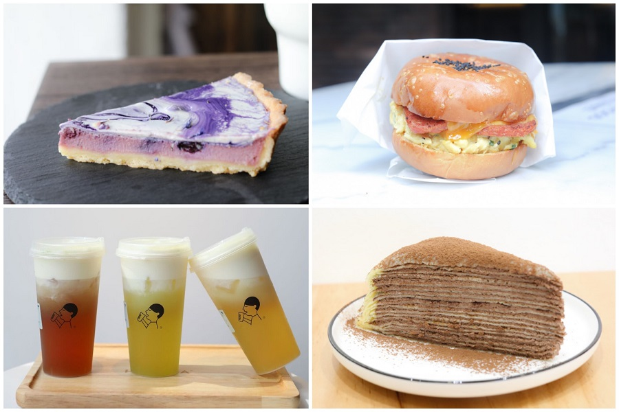 10 New Cafes November 2018 - HeyTea Singapore, Crepe Café At Ang Mo Kio, Scrambled Eggs Cafe At Tanjong Pagar