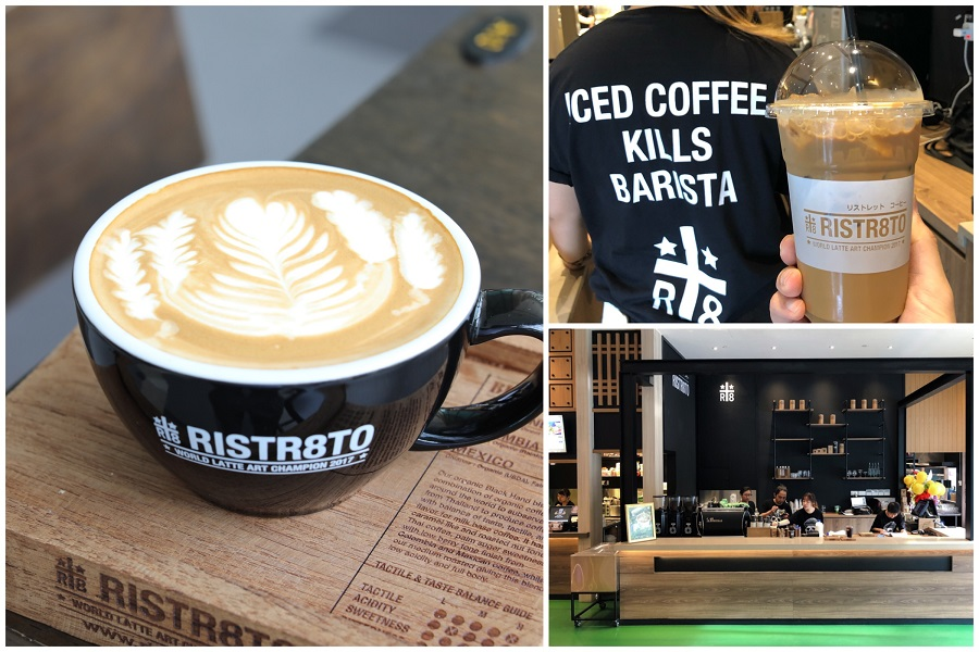 Ristr8to – Hipster Coffee Place Found Within A Foodcourt At Tai Seng, By World Latte Art Champion