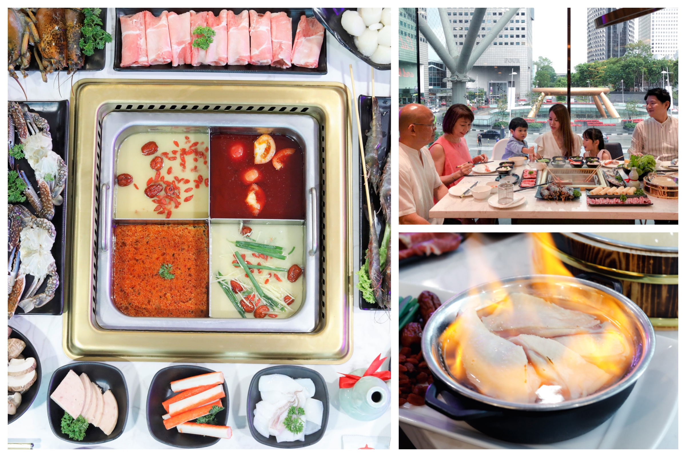 COCA Restaurant - Hotpot At Suntec City With 7 Exciting Broths, Go For The Hua Diao