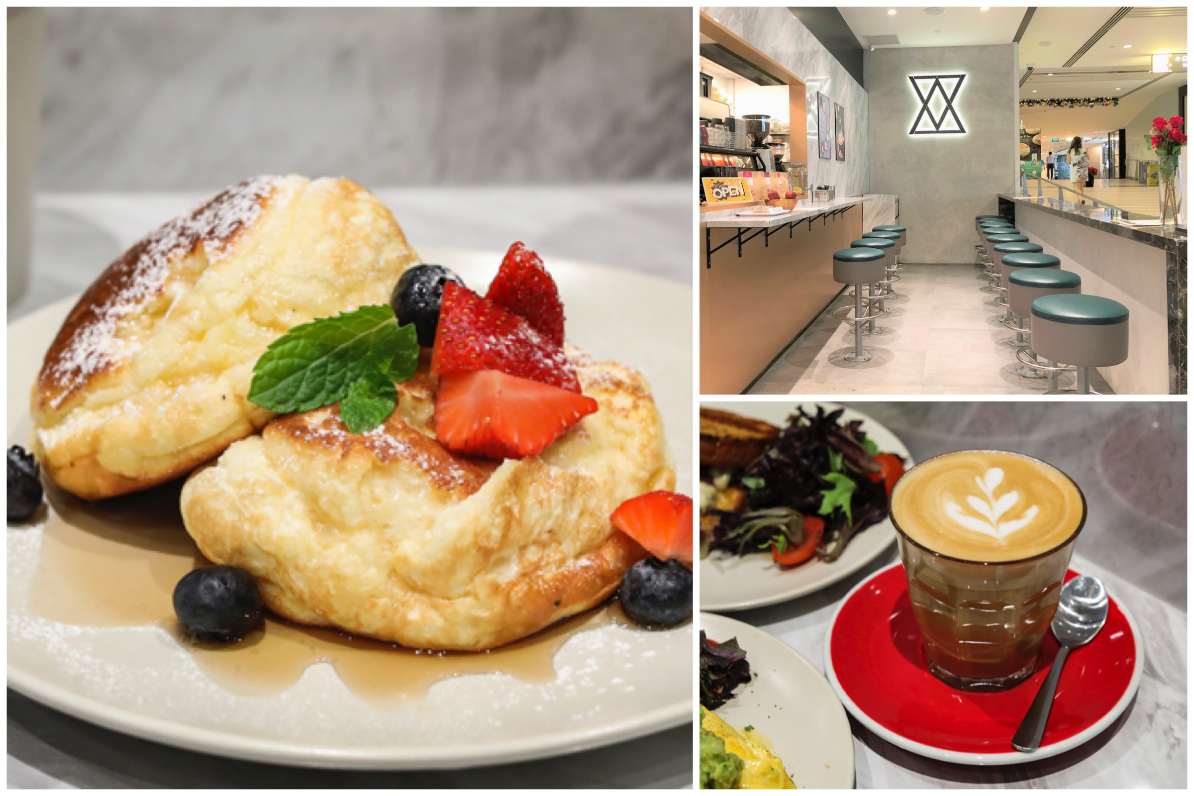 [Closed] JAB Coffee Co. - $4.50 Souffle Pancakes, Affordable Breakfast Meals And Sandwiches At Raffles City Basement