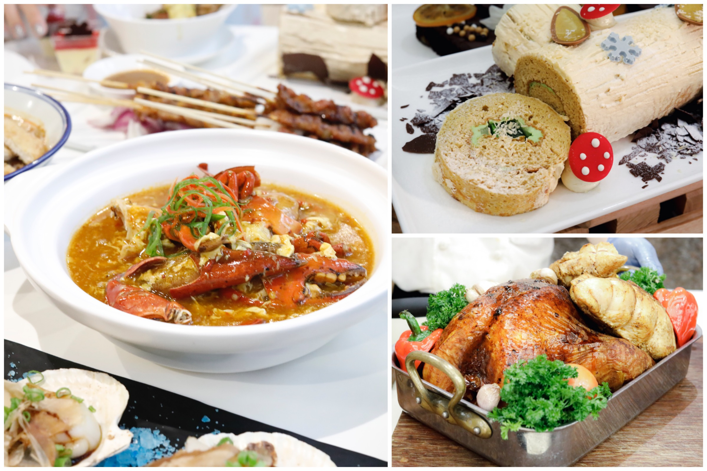 Review Buffet At Ginger Parkroyal On Beach Road: Festive Buffet With All-You-Can-Eat Crabs