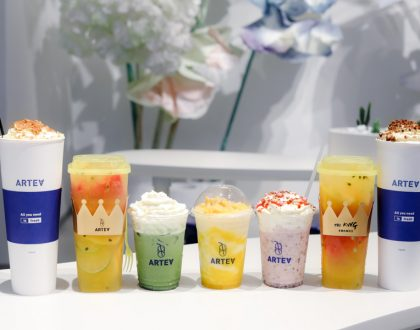 ARTEA – Floral Themed Café With Specialty Teas And Soufflé Pancakes, At Vivocity