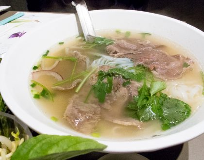 Chua Lam's Pho 蔡瀾越南粉 – Celebrity Food Critic Opens Vietnamese Pho Shop At Hong Kong Central