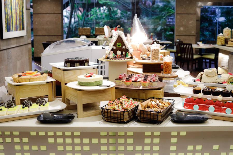 Review Buffet At Ginger Parkroyal On Beach Road: 25% OFF DFD Promo, Festive Buffet With All-You