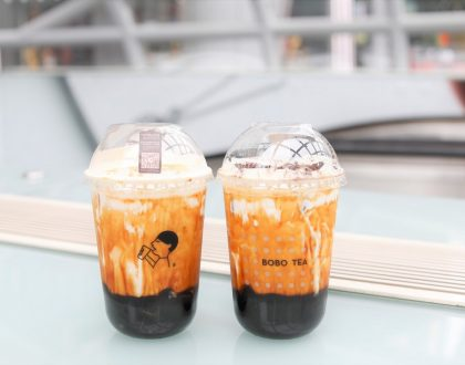 HEYTEA – NEW Brown Sugar Brûlée Bobo Milk Tea & Oreo Bobo Tea, At ION Orchard