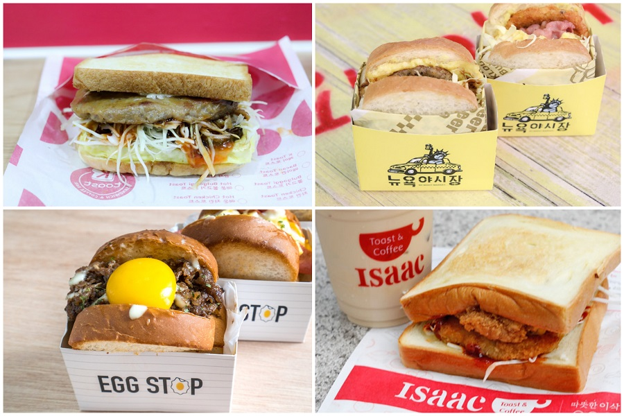 "5 Korean Sandwich Places In Singapore - From Isaac Toast, Egg Stop, To The ""Hidden"" KToast"