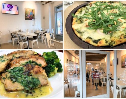 Café Amaretto, Gurgaon – Pretty Little Italian Café and Art Gallery Serving Delightful Food, At South Point Mall