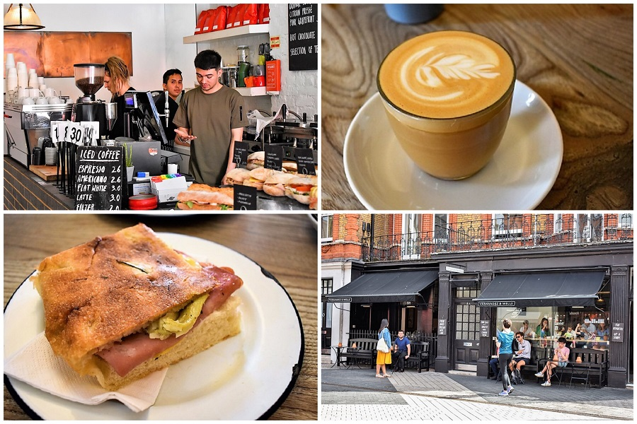 Fernandez & Wells - London Cafe Specialising In Coffee, Delicious Sourdough-Based Cakes & Bread