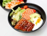 Unagi VS Salmon - Japanese Grain Bowls Priced Affordably At $9.90 Onwards, At Icon Village
