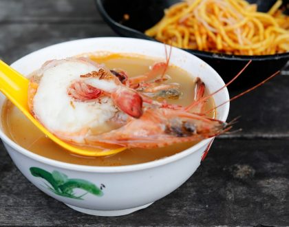 Fresh Taste Big Prawn Noodle – Zion Road Prawn Mee That Packs An Umami Punch, With Michelin Bib Gourmand