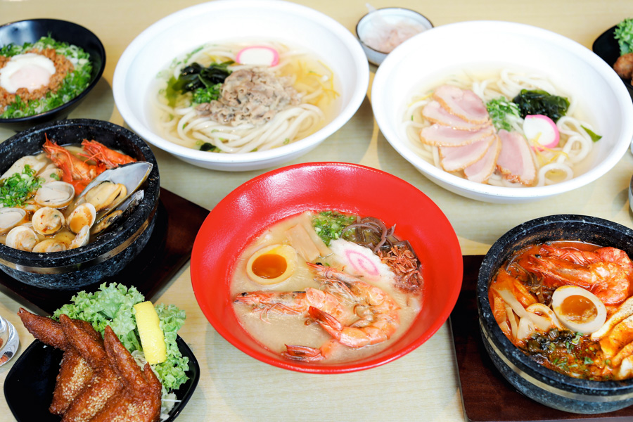 Udon Kamon - NEW Udon Restaurant With Widest Range Of Broths In Singapore. 1-For-1 Udon From 21-23 Feb 2019