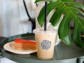 Kebun Tea Bar - 1st Vegan Latte Cafe in Singapore With Vegan Kueh Lapis Sagu, Located Near Chinatown