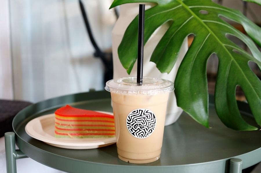 Kebun Tea Bar - 1st Vegan Latte Cafe in Singapore With Vegan Kueh Lapis Sagu, Located Near Chinatown