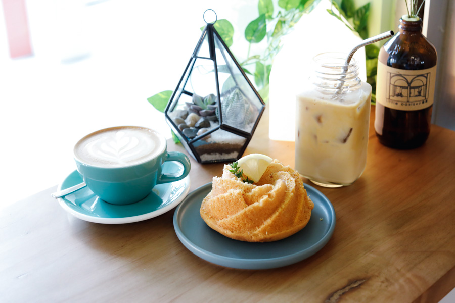 Little Oasis - Hidden Quiet Cafe At Everton Park, Offering Freshly Baked Cakes And Healthy Meals