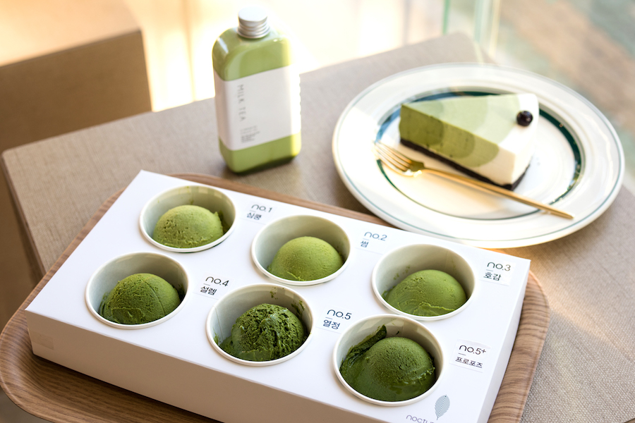 Nocturne No. 5 - 6 Levels Of Matcha, A Matcha Paradise In Seoul
