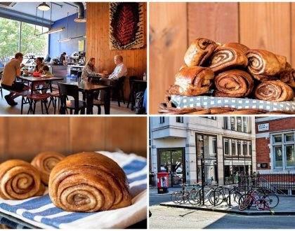 Nordic Bakery - Beautiful Scandinavian Café Famous For Cinnamon Buns, At Soho London