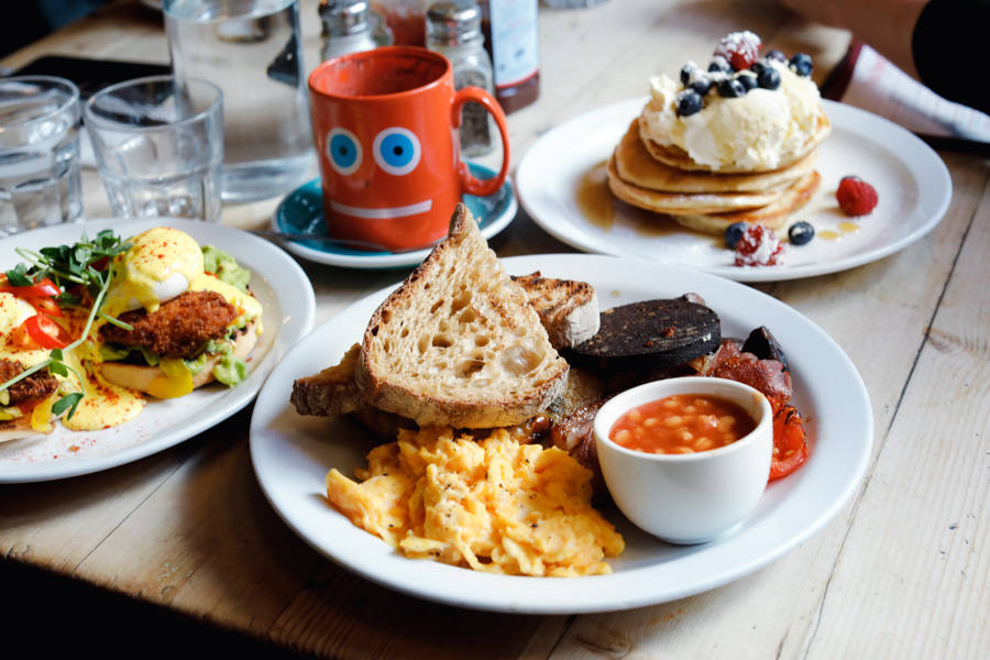 The Breakfast Club - Probably London's Most Popular All-Day Breakfast & Brunch Place